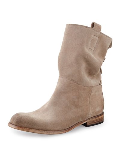 Umbria Slouchy Suede Ankle Boot