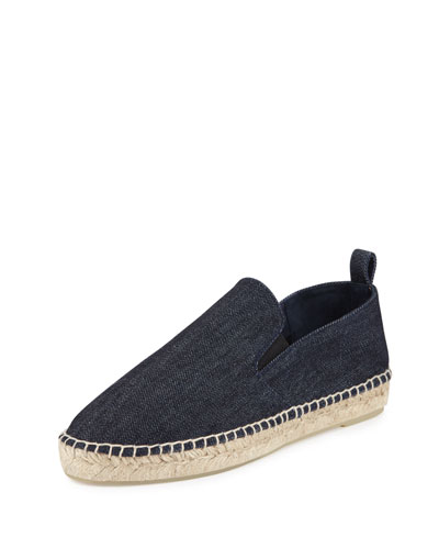 Robin Denim Slip-On Espadrille