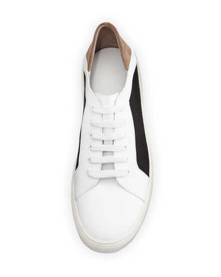 Vince Anette Mesh-Side Low-Top Sneaker