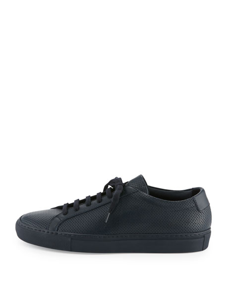3710ff163d192 Common Projects Achilles Perforated Low-Top Sneaker