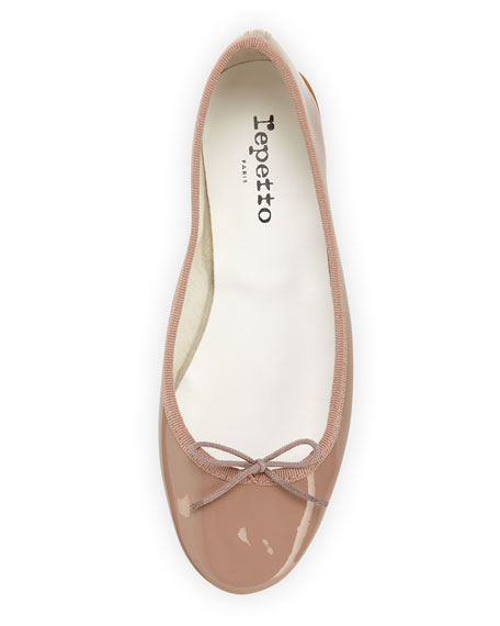 Cendrillon Patent Leather Ballet Flat, Hermine