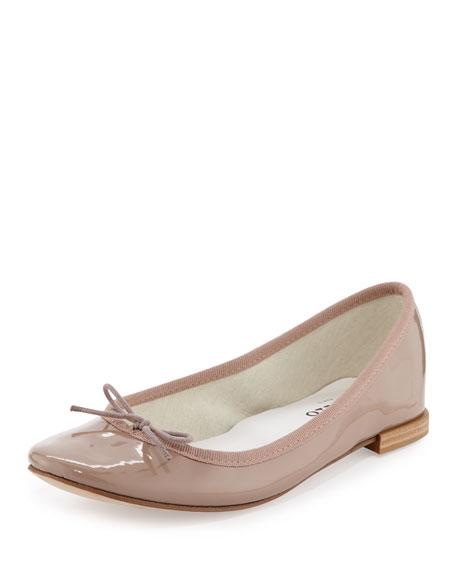 Cendrillon Patent Leather Ballet Flat, Hermine
