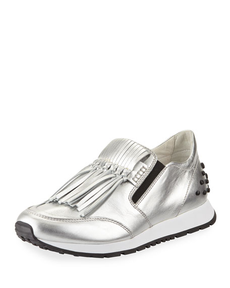 Tod's Fringed Sneakers Outlet Great Deals Buy Cheap Best Sale With Paypal Online Affordable Cheap Price Discount Low Shipping Fee AT12zFQ21Z
