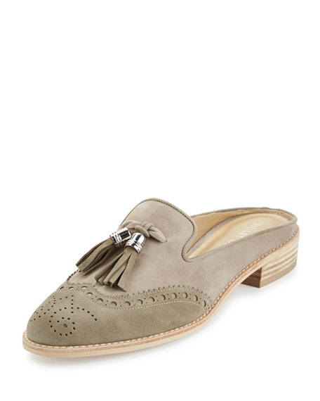 best place cheap online outlet finishline Stuart Weitzman Mulething Brogue Mules buy cheap footlocker pictures buy cheap view L76k4BeQ