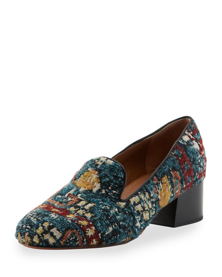 Kooper Tapestry Loafer Pump