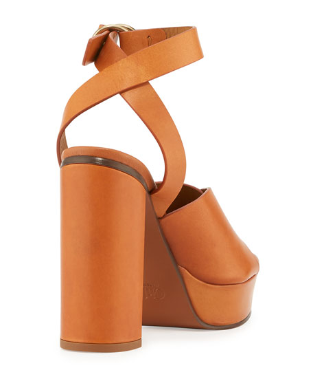 2e3a73212be Chloe Kingsley Platform Buckle Sandals