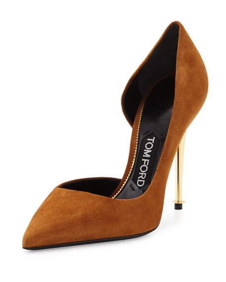Suede pumps Tom Ford MH7pSTyeC