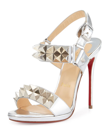 christian louboutin spiked sandals