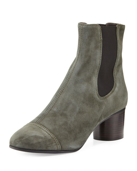 Image 1 of 1: Danae Suede Chelsea Boot