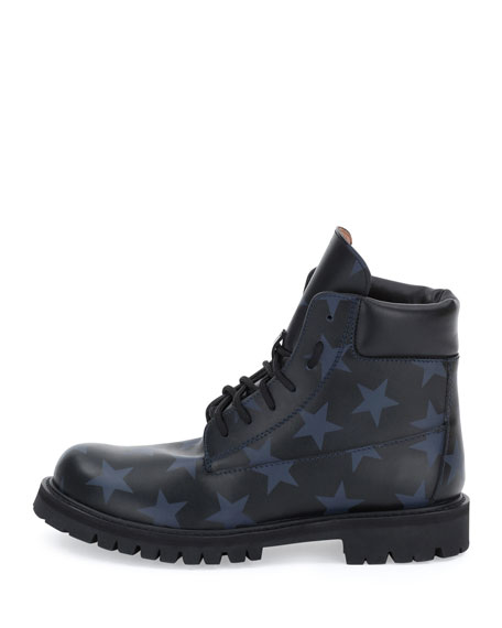 clearance sale online discount marketable Valentino Hologram Stars Combat Boots top quality cheap online free shipping big sale U51E4IFF