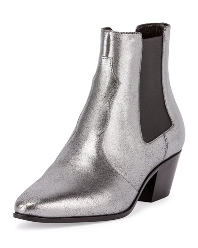 Metallic Rock Star Chelsea Boot,