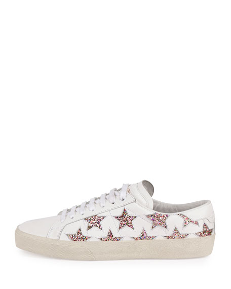 sparkly star sneakers