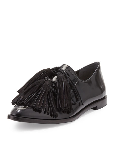 Loeffler Randall Woman Patent-leather Loafers Black Size 6 Loeffler Randall Ycdj1CLXdL