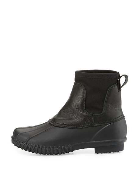 Hartley Fur-Lined Weather Boot, Black