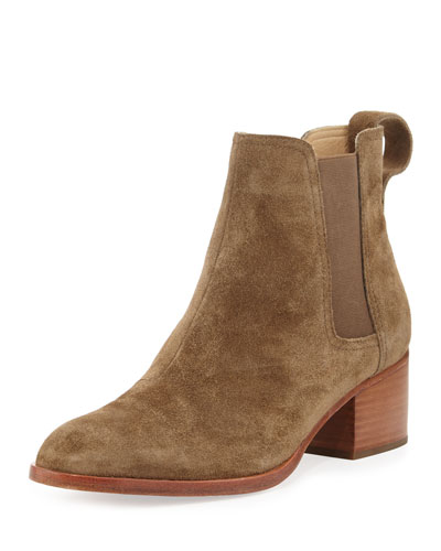 Walker Suede Pull-On Boot, Mineral