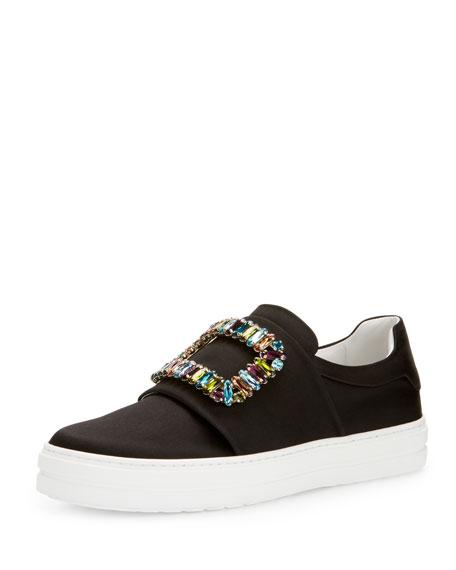 Sneaky Viv Satin Buckle Sneaker