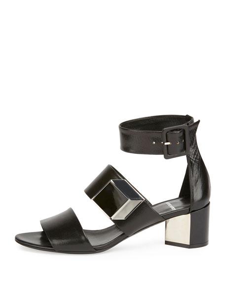 De d'Or Illusion Sandal, Black