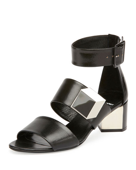 Pierre Hardy De d'Or Illusion Sandal, Black