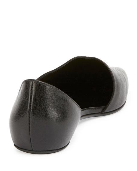 Mirage Half-d'Orsay Ballerina Flat, Black