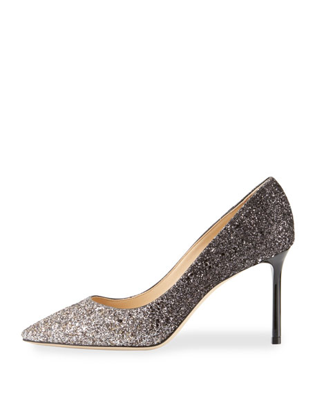 Romy Degrade Glitter 85mm Pump