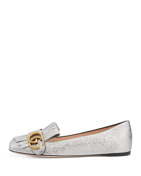 b8f1e7d611ceb Gucci Marmont Loafer Ballet Flats