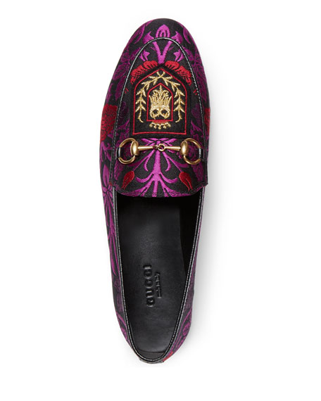 New Jordan Floral Loafer, Purple