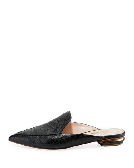 Beya Leather Mule Slide