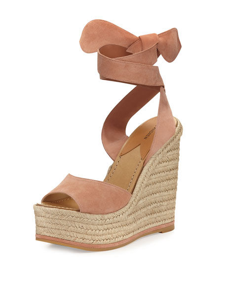 Paul Andrew Suede Espadrille Wedges best place to buy online clearance best seller tumblr online cheap top quality shopping online cheap price DGUWey8