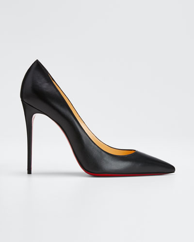 2a0aa9df2 Decollette Red Sole Pumps Black Quick Look. Christian Louboutin