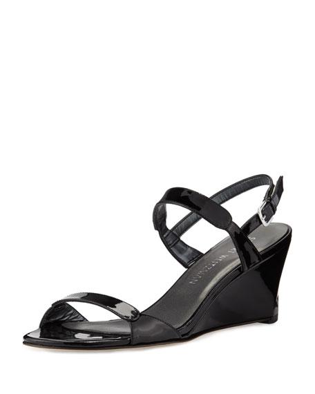 Patent Demi Sandal Black Nolo Wedge b6Yyv7fg