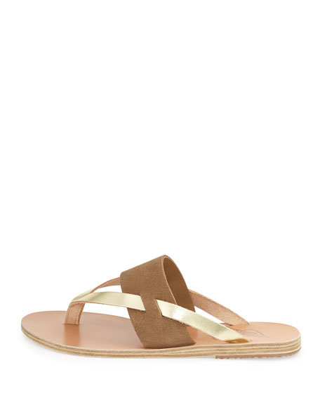 Zenobia Flat Thong Sandal