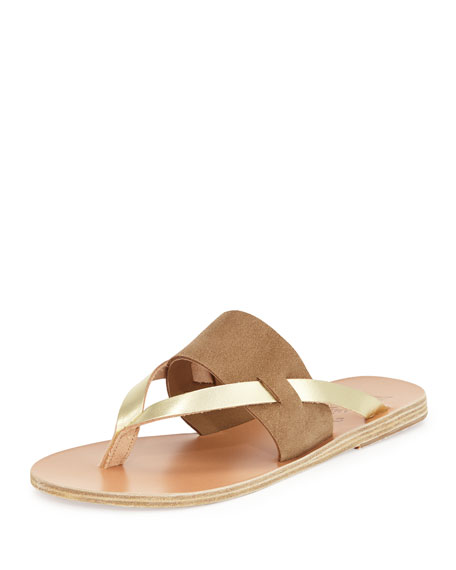 Ancient Greek Sandals Zenobia Flat Thong Sandal