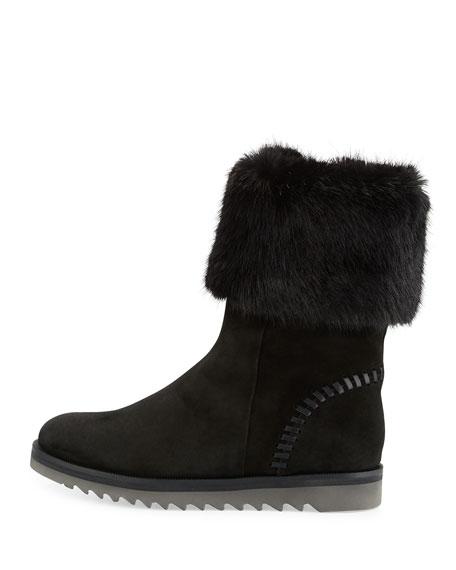 Paulette Faux-Fur Lined Boot