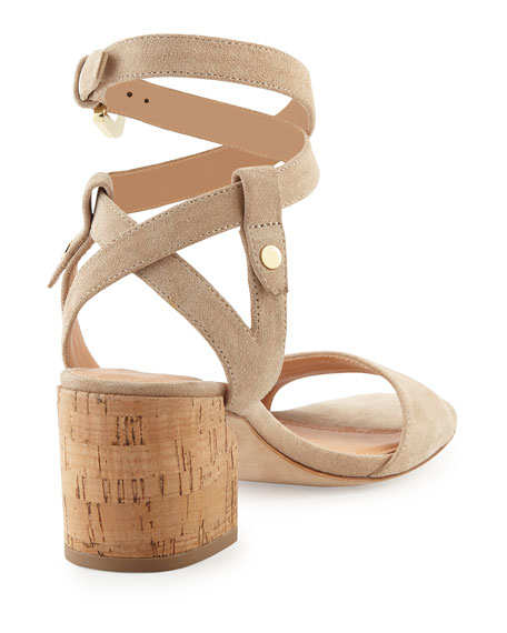 Rina Suede City Sandal