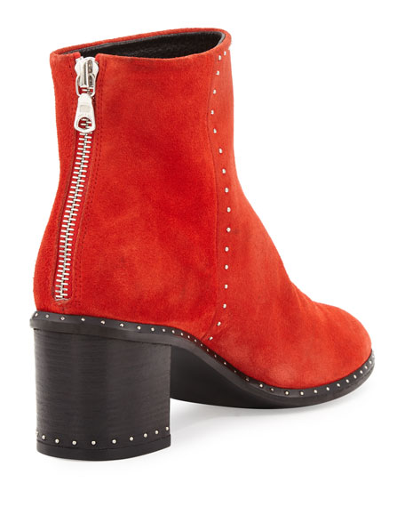 087d18e8cbf Rag   Bone Willow Studded Leather Ankle Boot