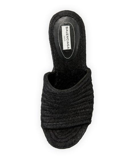 Braided Jute Wedge Sandal