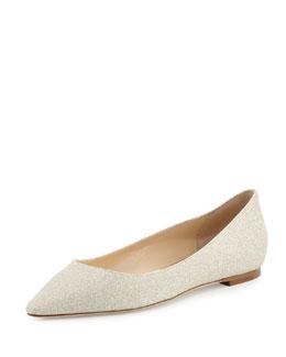 Romy Glitter Slip-On Flat