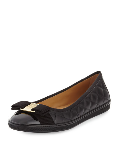Rufina Quilted Ballet Flats