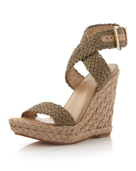 72a430ba436 Stuart Weitzman Alex Crochet Wedge Sandal