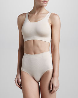 Wacoal Cool Definition Moisture-Wicking Bralette & Briefs, Nude