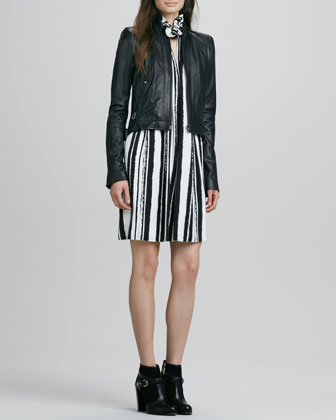 Quilted Zip Jacket & Muse Dress