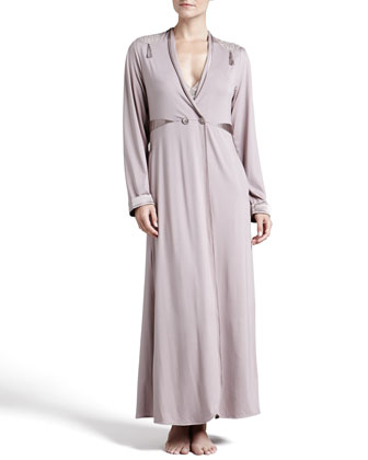 Villa Toscana Long Robe & Hi-Lo Gown