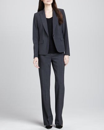 Gabe 2 One-Button Blazer, Juin 2 Short-Sleeve Tee & Max 2 Suit Pants