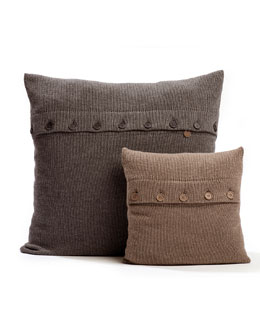 Flat-Braided Pillows