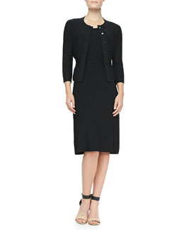 Tory Burch Klara Textured Knit Cardigan & Dress
