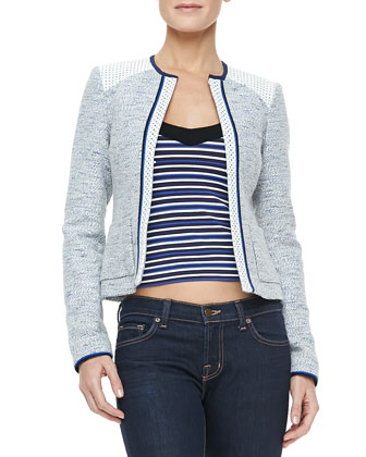 White Sands Tweed Jacket & Harbor Top
