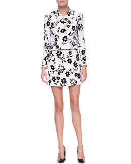 Ralph Lauren Collection Carolina Mod Floral-Print Jacket & Maxine Floral-Print Skirt