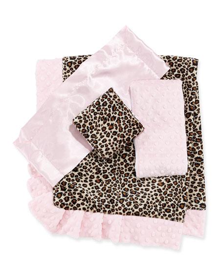 Cheetah-Print Receiving Blanket