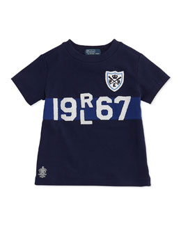 Ralph Lauren Childrenswear Toddler Boys' and Boys' Cotton Logo Tee