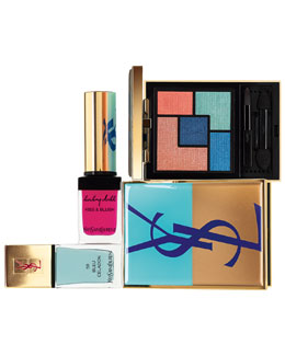 "Yves Saint Laurent Summer Look 2014:  ""Bleus Lumiere"""